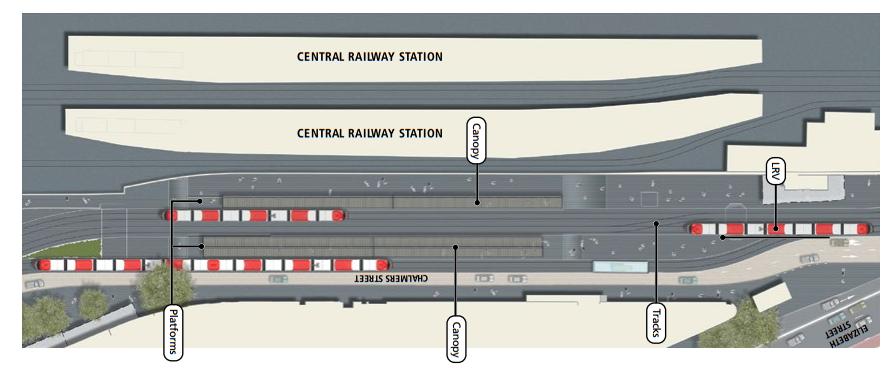Waterloo Link Path Design
