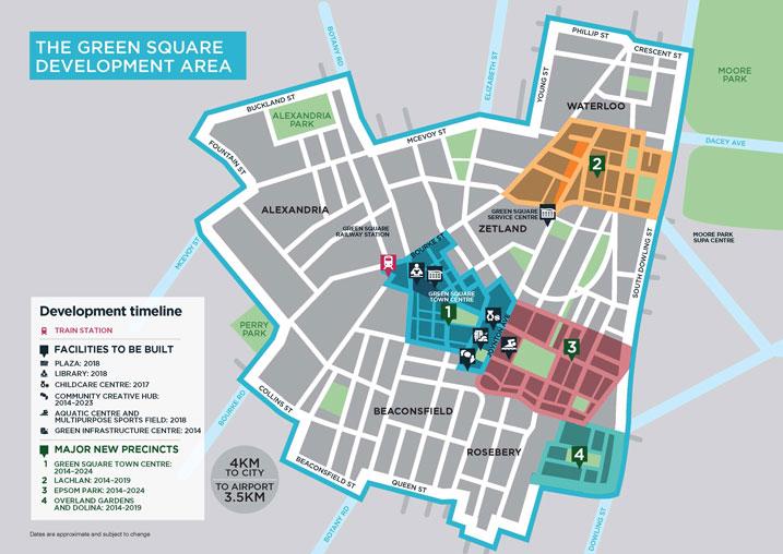 2014-07-29 - Green Square Development Map