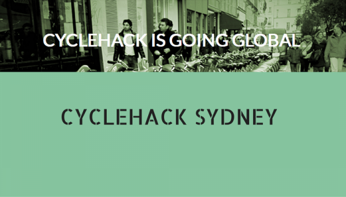 2014-09-09 - CYCLEHACK SYDNEY (facebook)