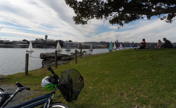 Riding encourages me to visit the foreshore more often than I would