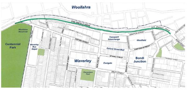 2015-08-17 - Syd Einfeld Cycleway Option